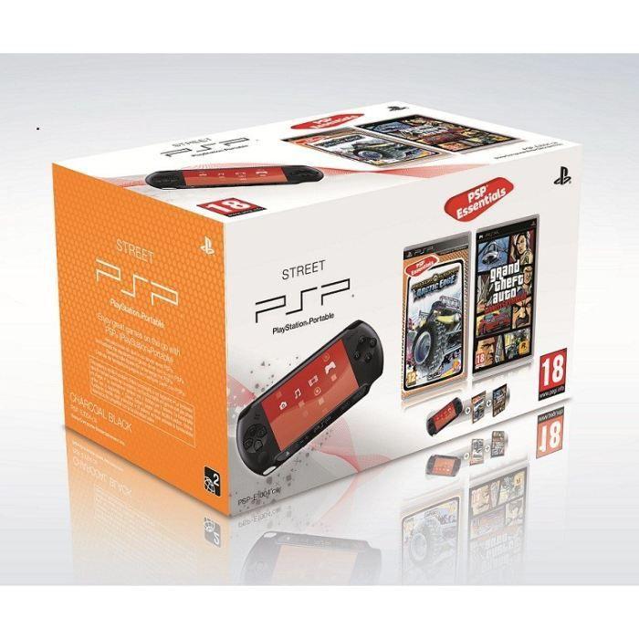 CONSOLE PSP PSP STREET MOTORSTORM ARTIC EDGE +